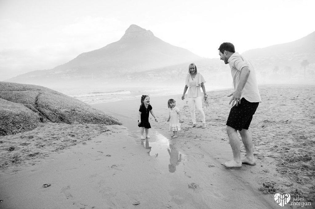 Denise, Jordan, Sadie and Isla // Beach Shoot