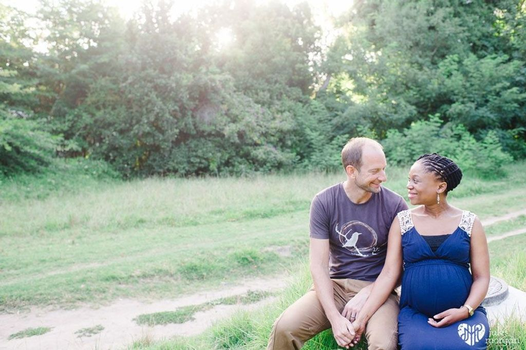 Zimbini and Tim: Maternity