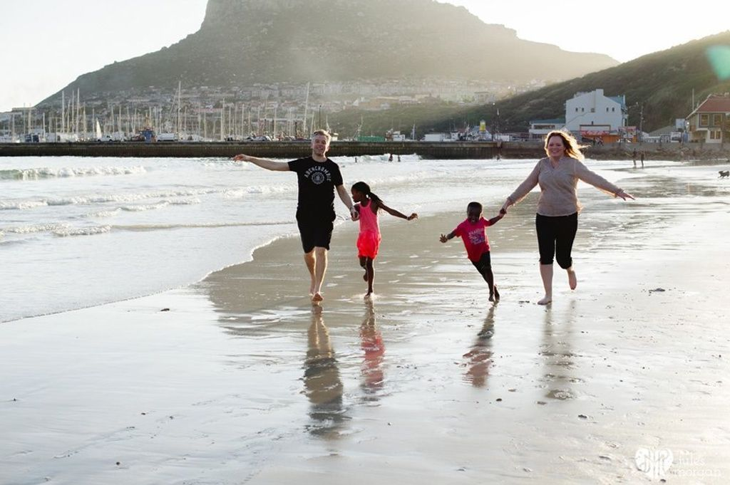 Therese's family in Cape Town
