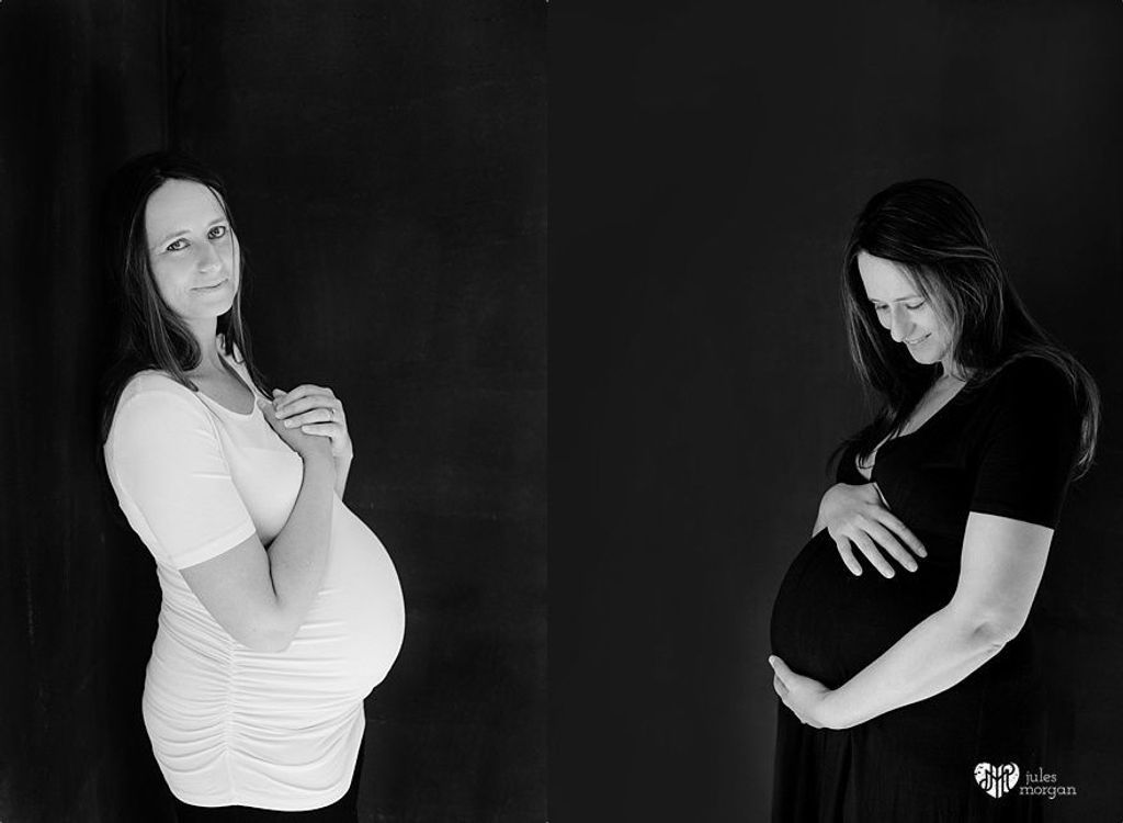 Tammy Maternity Shoot // In Studio
