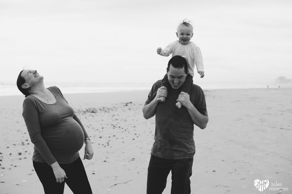 Liezl, Frederick, Clara and the bump