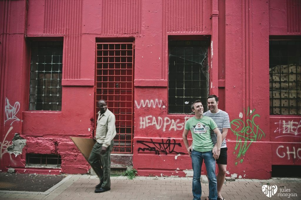 Wesley and Miles in Joburg