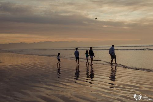 Michelle's Family // Muizenberg Beach
