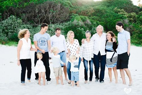 Gary's family // a beach shoot