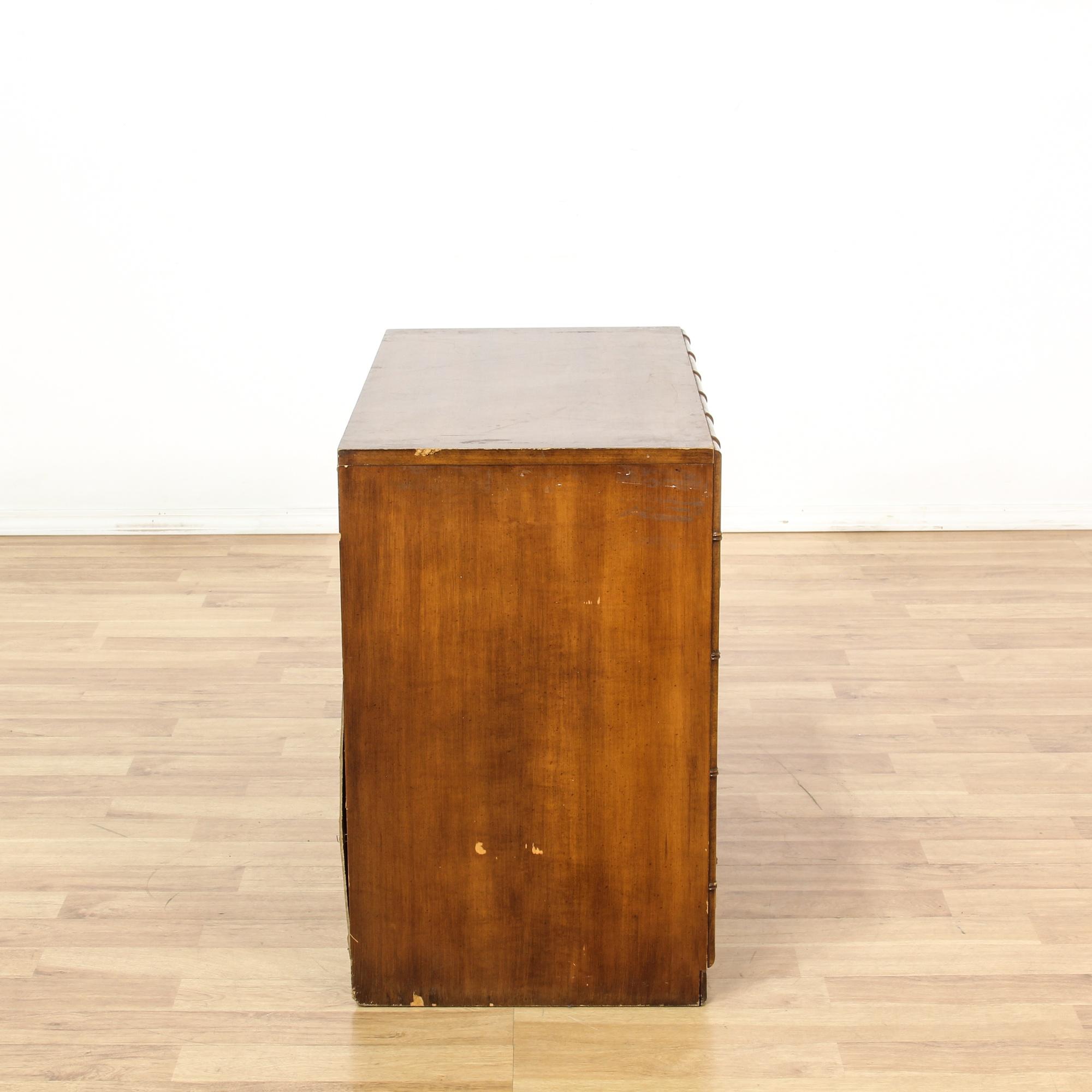 Quot Tahiti Quot 3 Drawer Bamboo Motif Dresser Loveseat Vintage