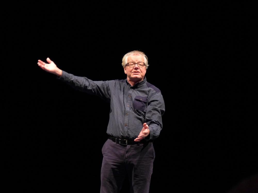 Stig Östman, medverkar på Berättarfestivalen 2021. Foto: Monica Lindgren.