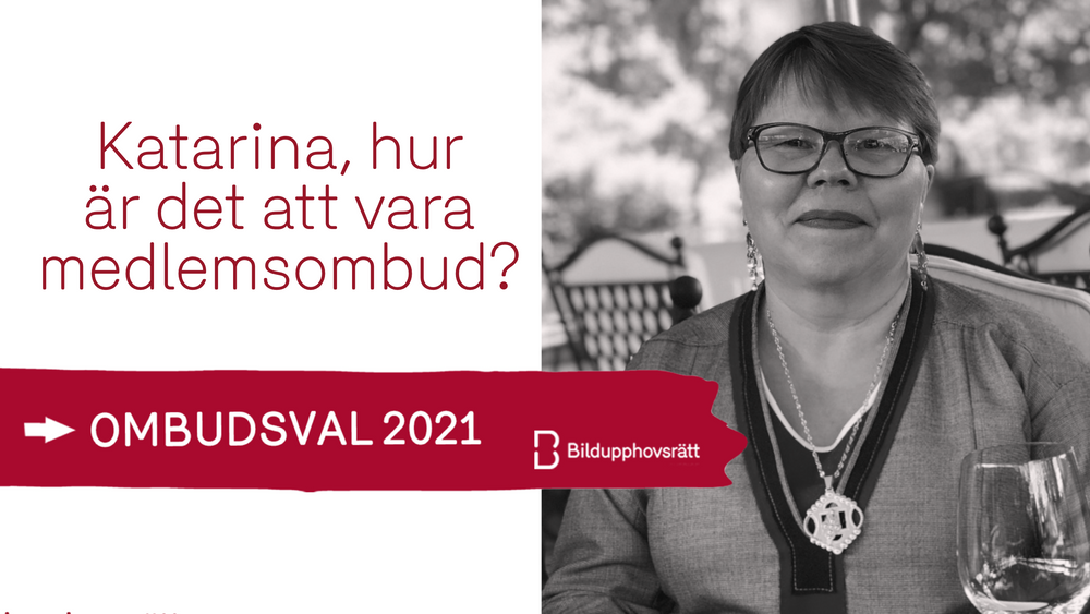 Katarina Pirak Sikku är medlemsombud för rättighetshavare som ärvt rättigheter.  Foto: Katarina Spiik Skum. Bilden är beskuren.