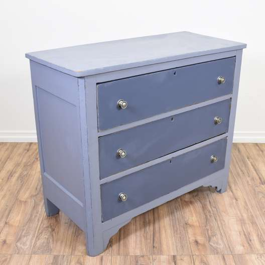 Blue Cottage Chic Chest of Drawers