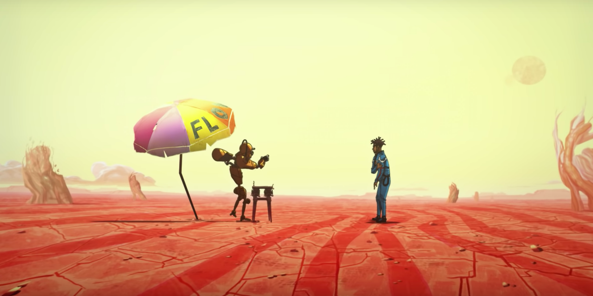 Flying Lotus and Anderson .Paak star in grisly new animated music video for 'More' – watch