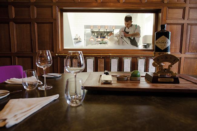 Hampton Manor Tasting room