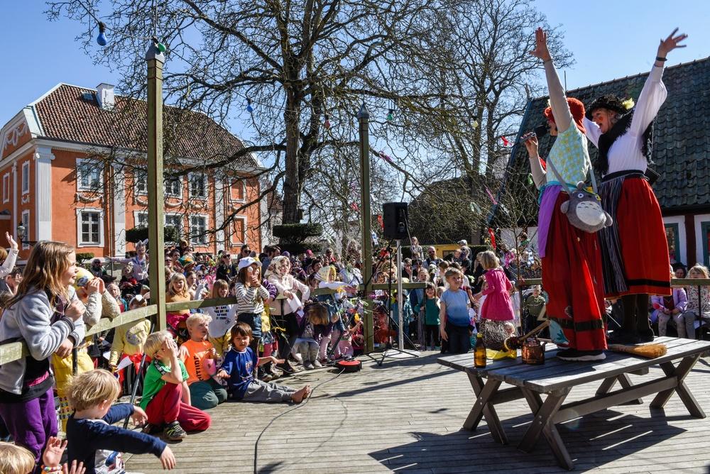 Skärtorsdagsfirande på Kulturen i Lund. Foto: Viveca Ohlsson, Kulturen