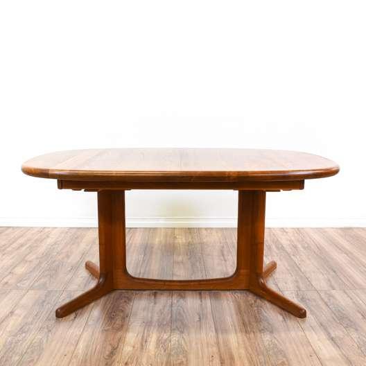 """""""E. Valentinsen"""" Expandable Teak Dining Table"""