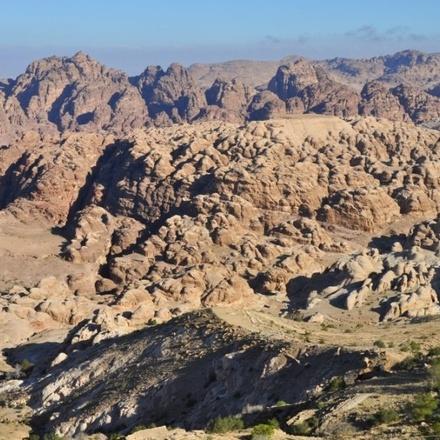 Hiking Tour Dana, Petra, Wadi Rum