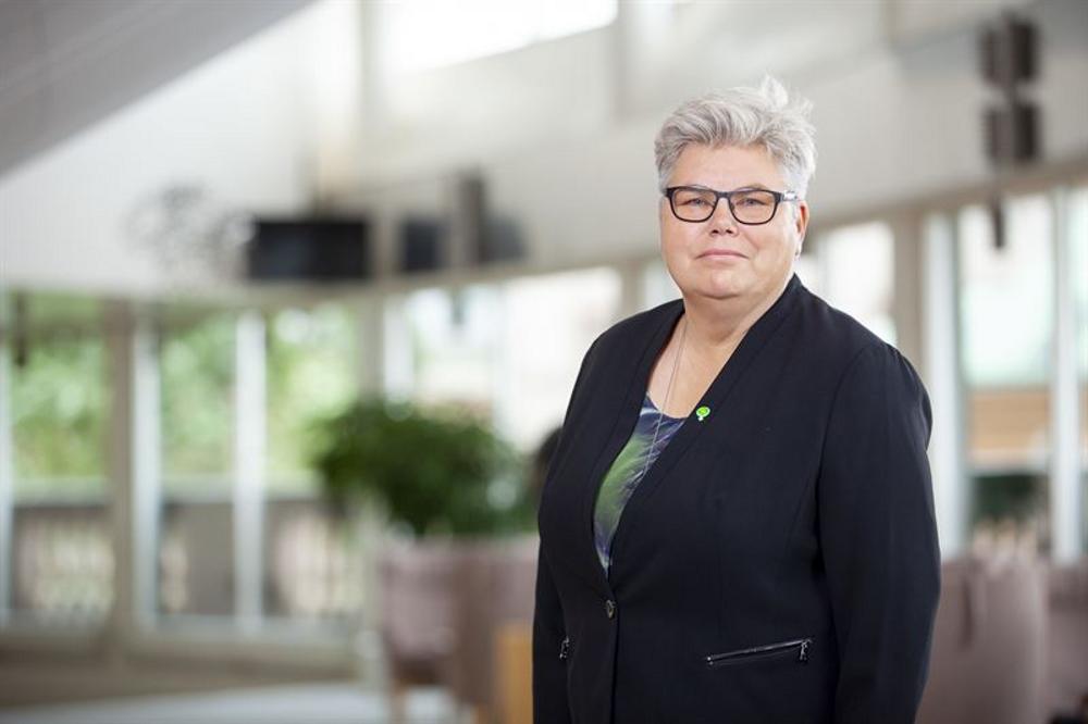 Maria Gardfjell (MP), riksdagsledamot och vice ordförande i miljö- och jordbruksutskottet