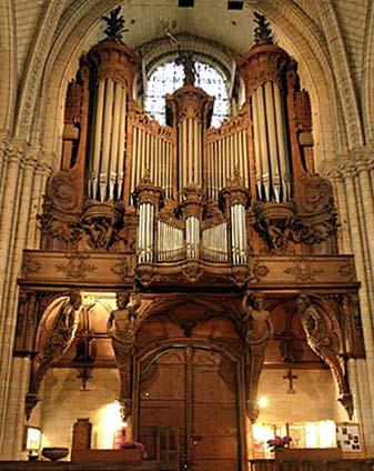 Cathérale Saint-Maurice d'Angers