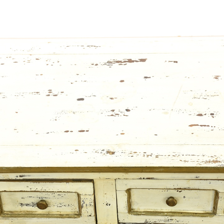 Gold Shabby Chic Coffee Table: Shabby Chic 4 Drawer Coffee Table