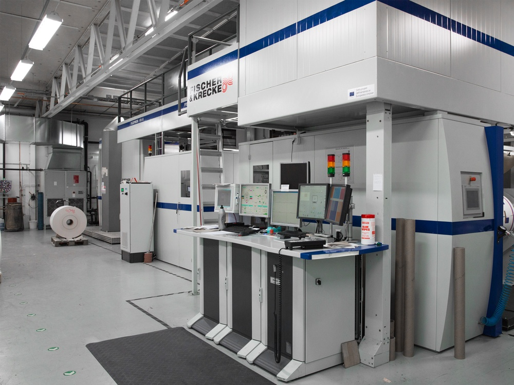 Brobygrafiskas utrustning används av företag för att analysera nya förpackningsmaterial och trycktekniker. Nu går det också att göra digitalt.