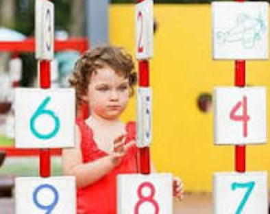 Number recognition at home