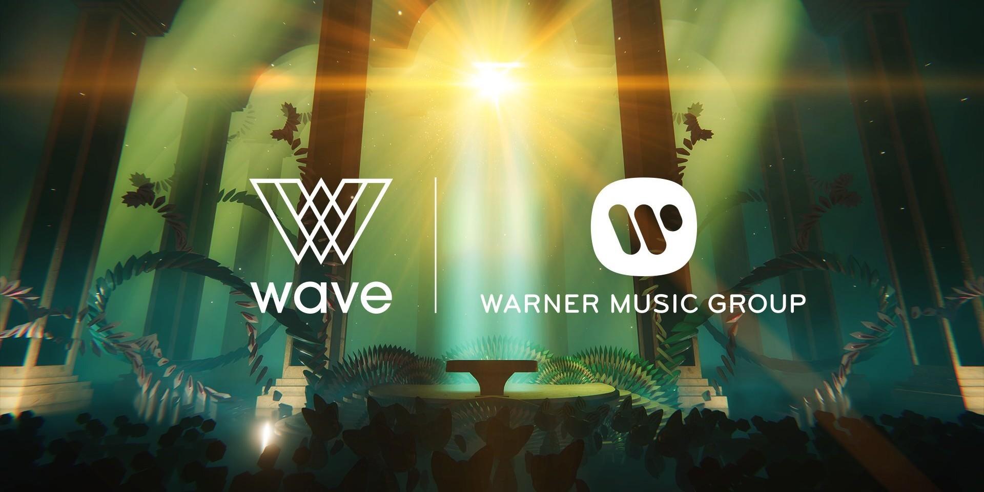 Warner Music Group strikes up partnership with virtual entertainment platform Wave