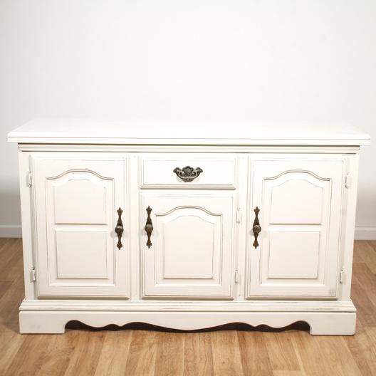 White Shabby Chic Buffet Cabinet