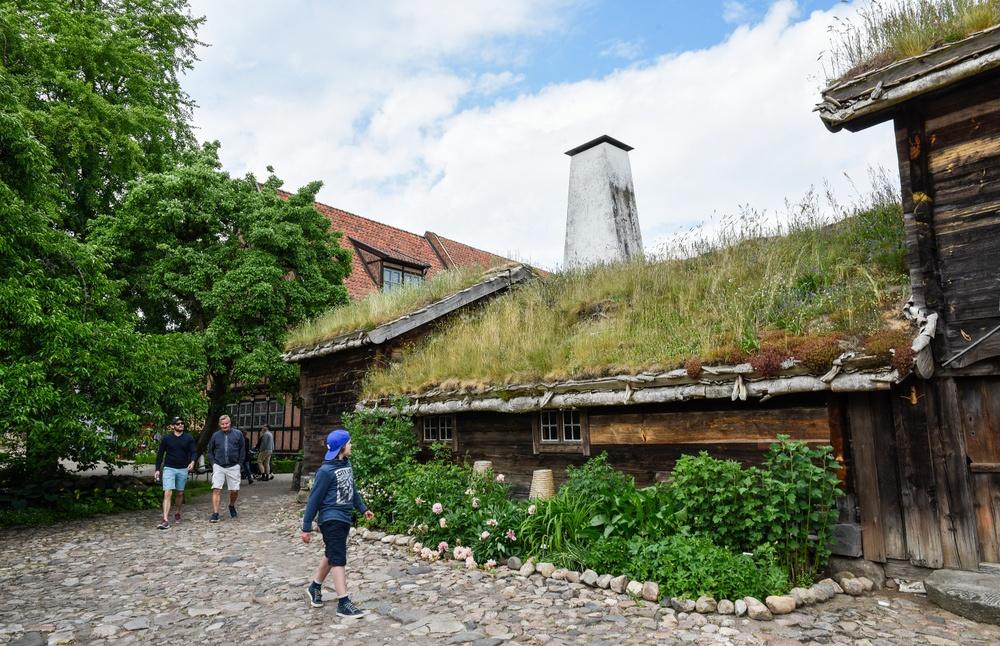 Blekingegården på Kulturen i Lund. Foto: Viveca Ohlsson, Kulturen