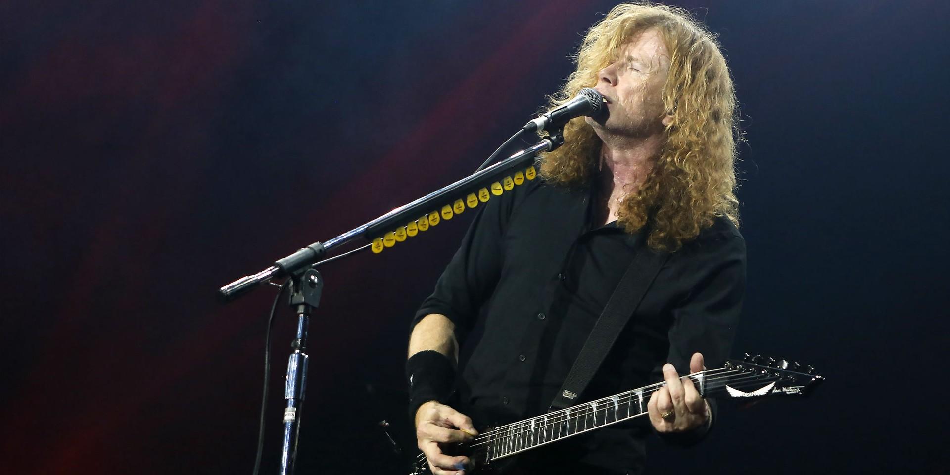 Megadeth's Dave Mustaine announces cancer diagnosis, shares album, tour updates