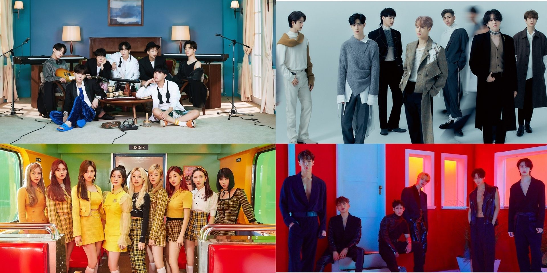 Bts Got7 Monsta X Twice And More To Perform At The Mnet Asian