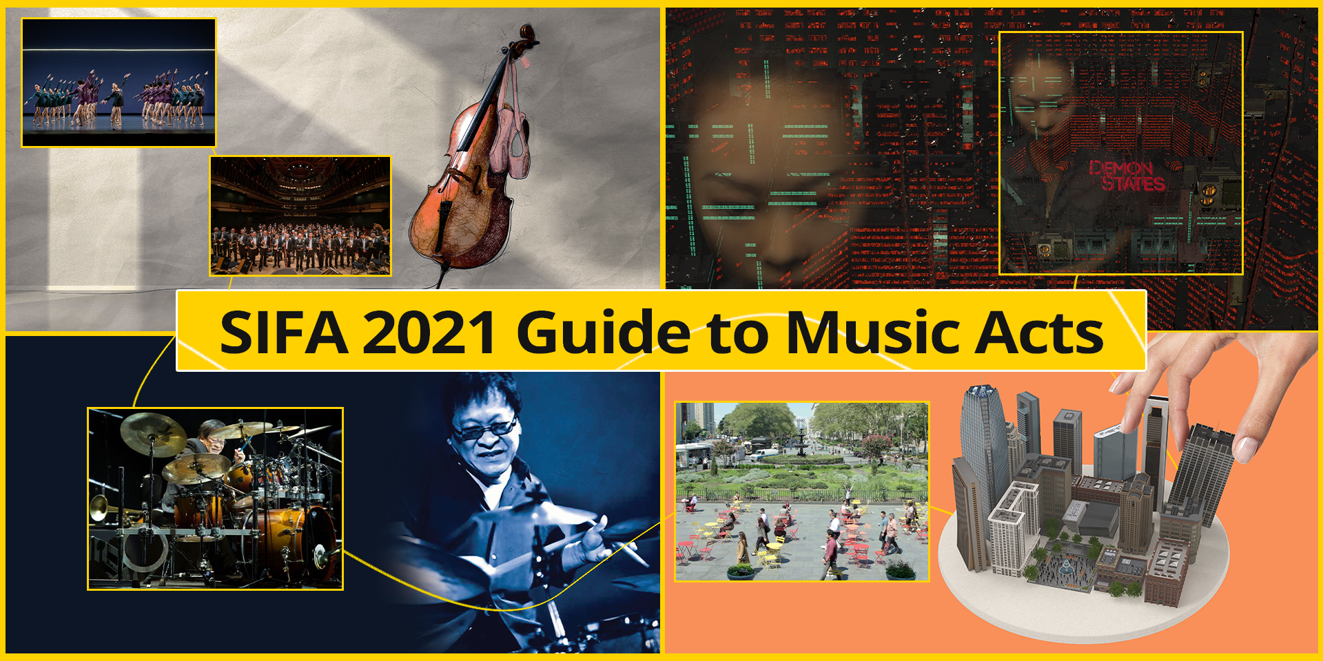 From virtual reality tours to jazz concerts, here's a musical guide to SIFA 2021