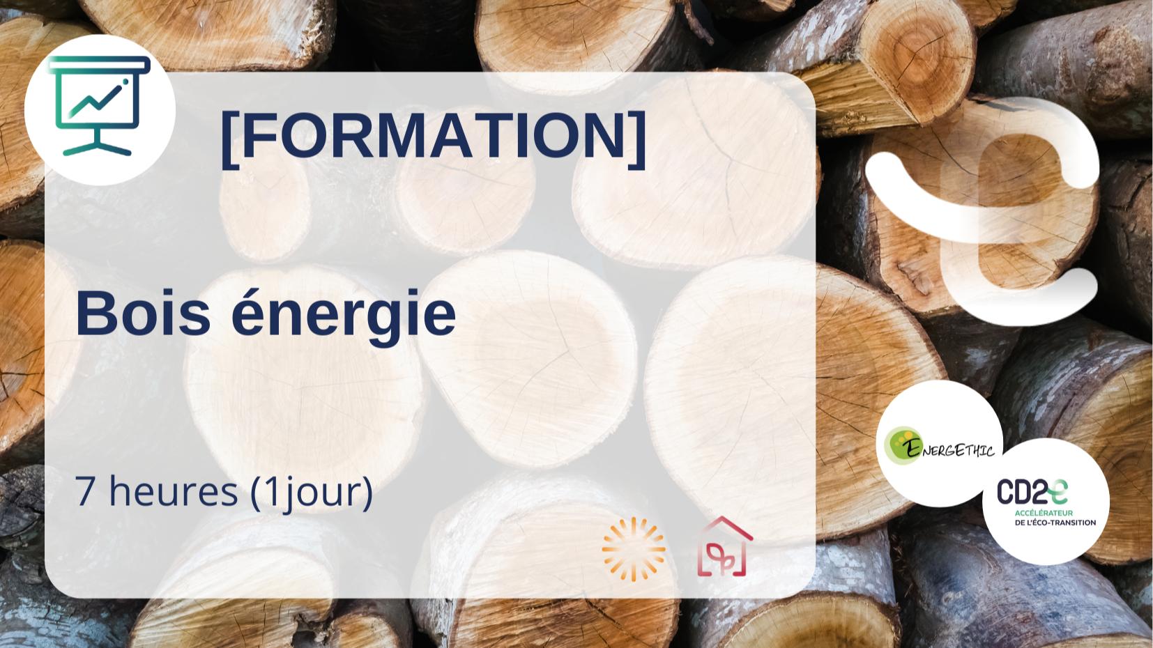Représentation de la formation : BOIS-ÉNÉRGIE - Parcours de 4 modules