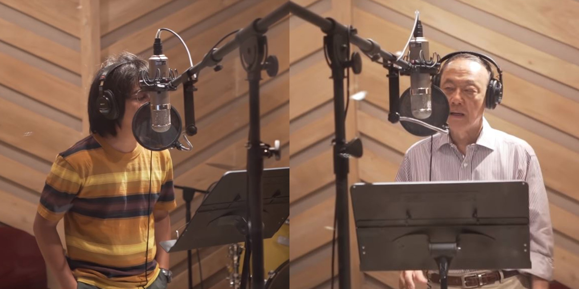 Oh, Flamingo! join Jose Mari Chan in the studio for Christmas collaboration – watch