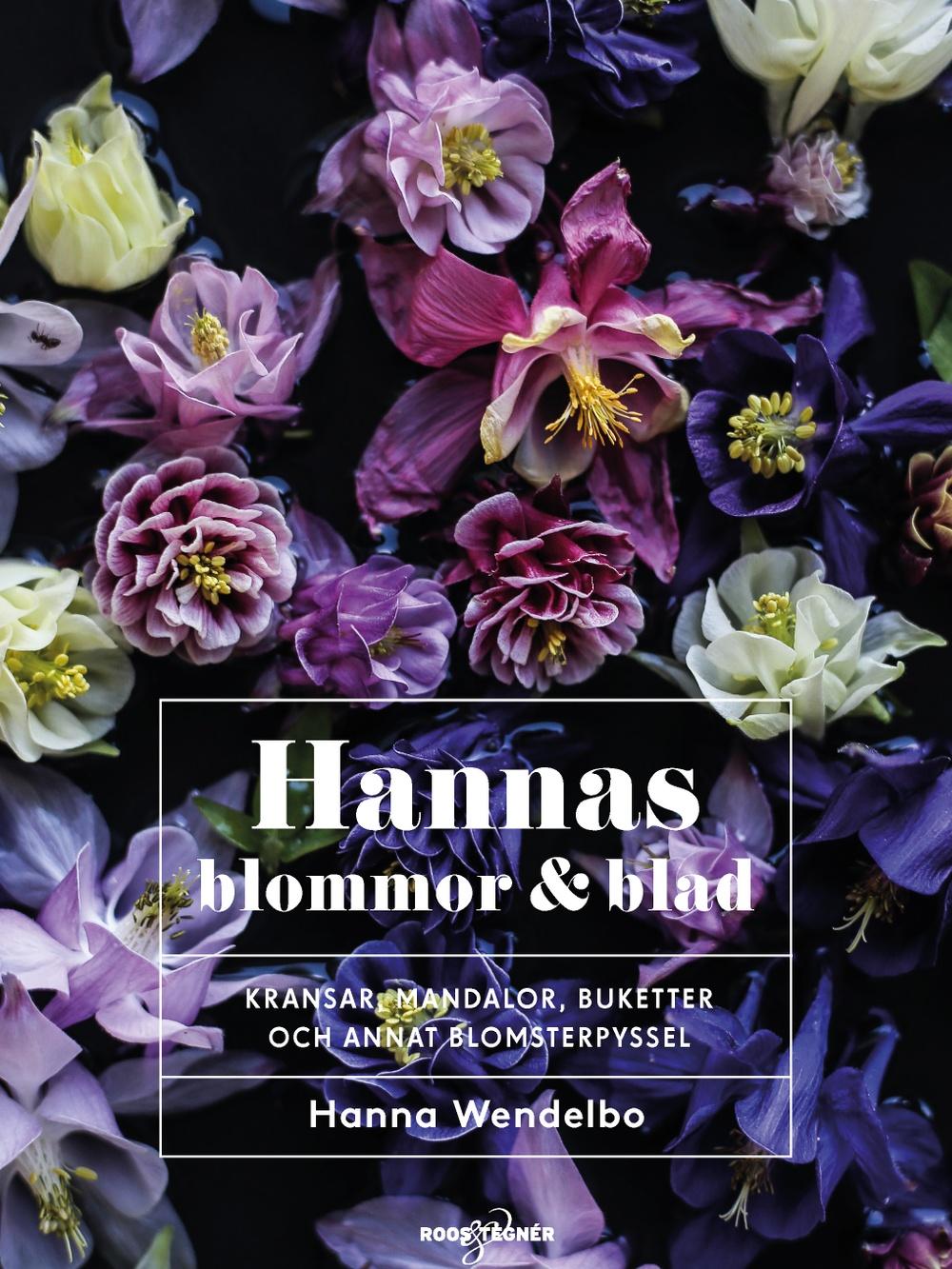 Bokomslag: Hannas blommor & blad