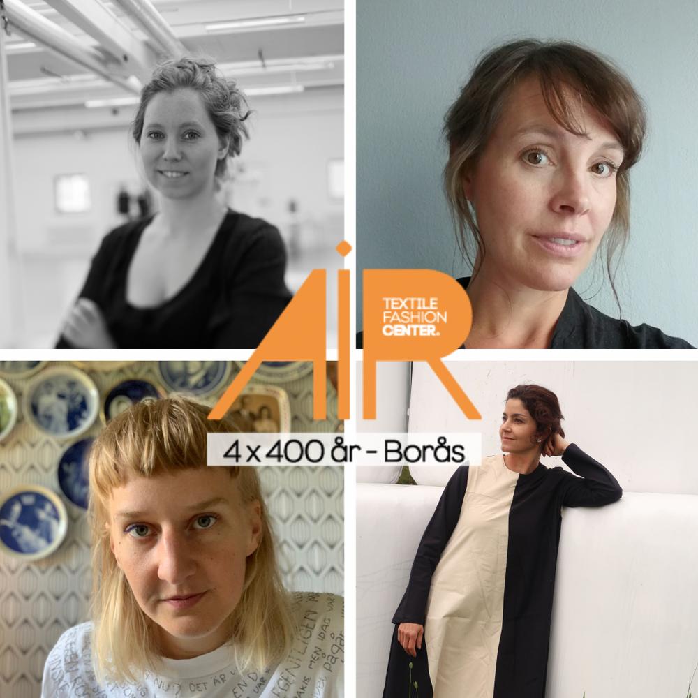 fr.v.  Vega Syversaetre Johannessen, Borås Emma Linde, Göteborg Anja Lundström, Luleå Pilar de Burgos, Piteå