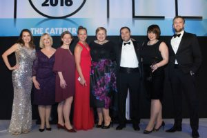 Hotel Cateys 2016 Front of House Team of the Year