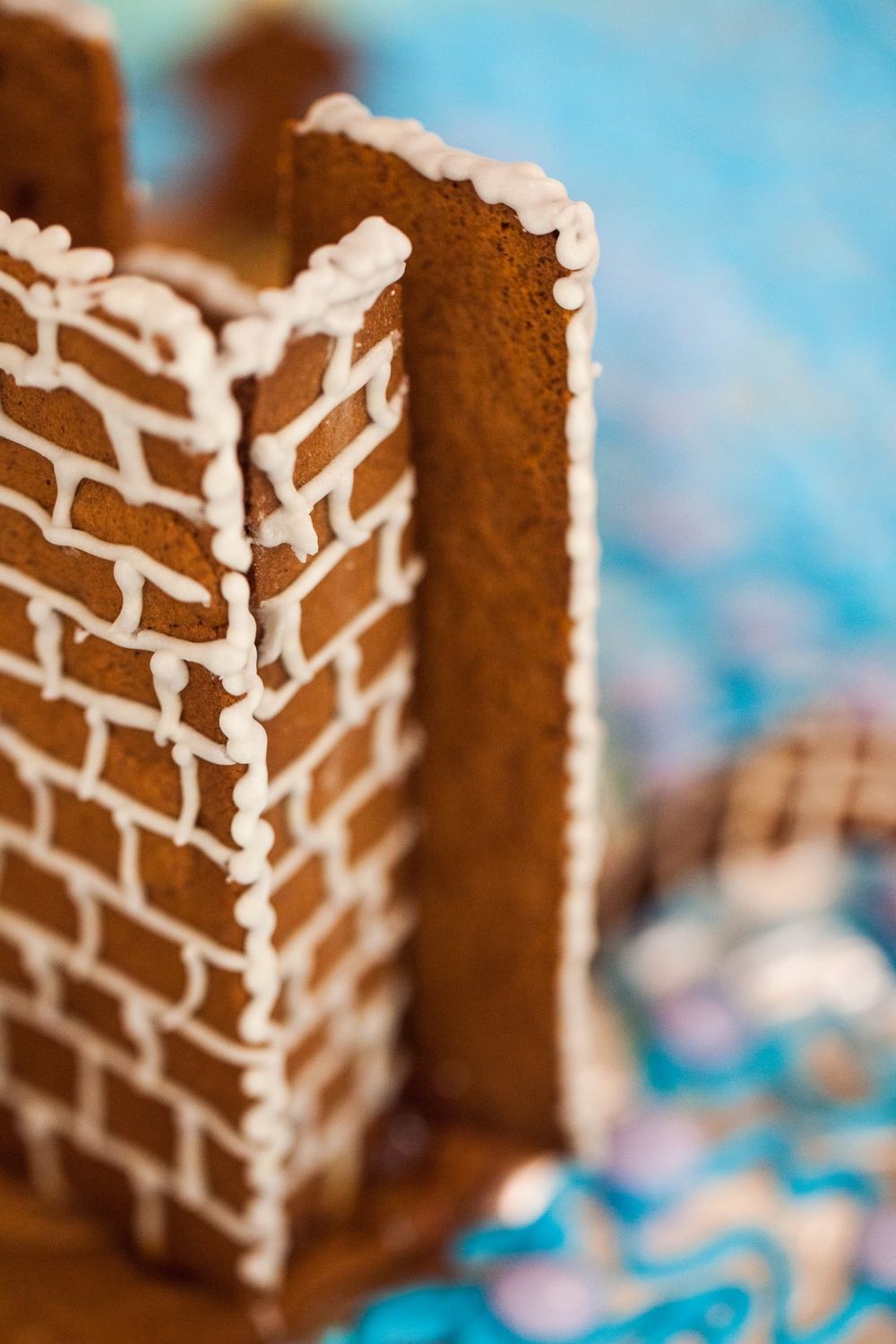 Details from the Gingerbread House Competition 2018. Cred: Viktoria Garvare.