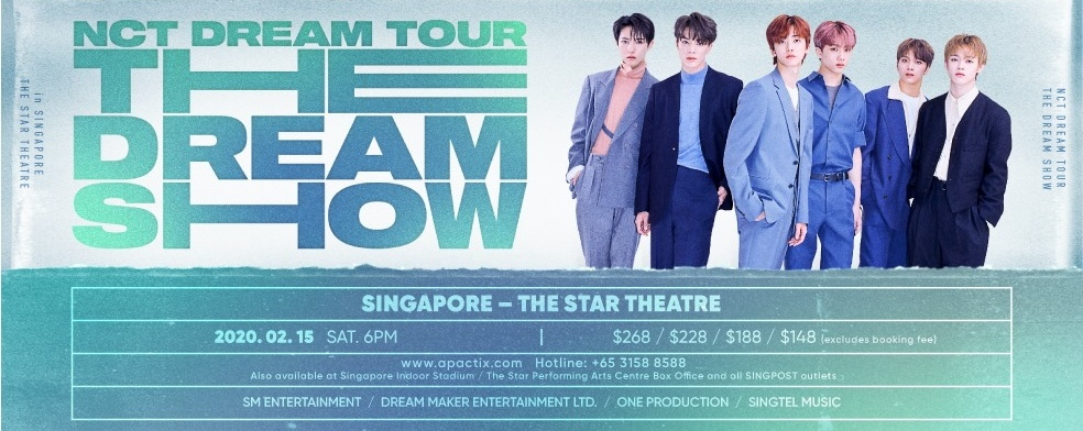 """[CANCELLED] NCT DREAM TOUR """"THE DREAM SHOW"""" - in Singapore"""