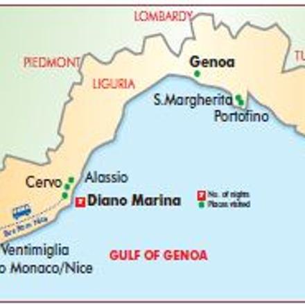 Italian Riviera by Rail