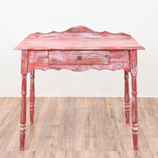 Groovy Red Shabby Chic Desk Loveseat Vintage Furniture San Diego Download Free Architecture Designs Lukepmadebymaigaardcom