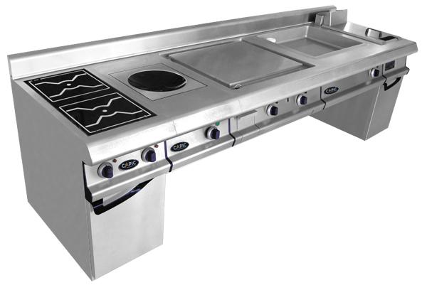 Capic's Celtic 800 cooking suite