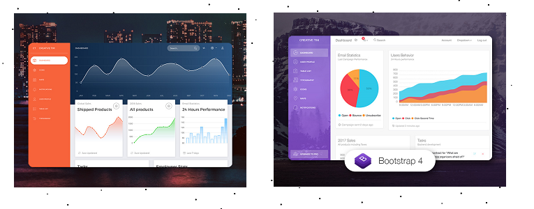 Premium UI Dashboards coded in CodeIgniter and Flask. YOURS FREE!