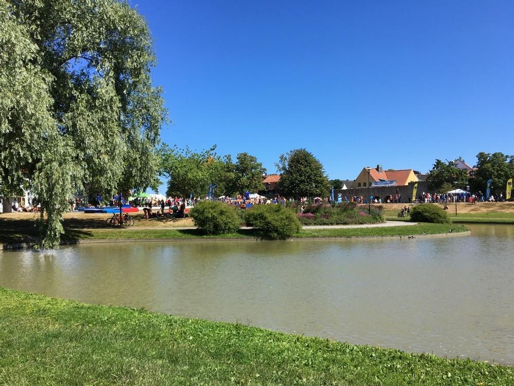 Almedalen. Fotograf: Elin Nysten/Region Gotland