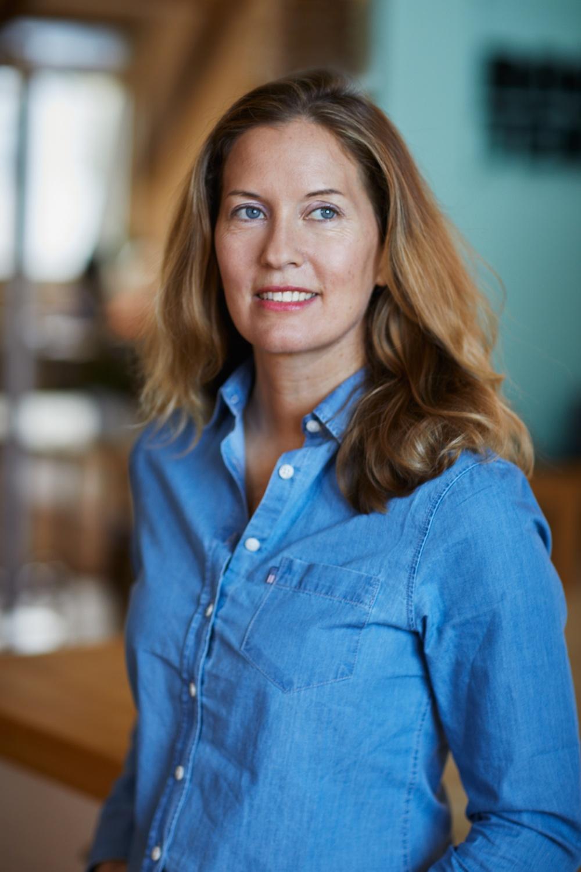 Författarporträtt: Helena Kubicek Boye  Foto: Åsa Siller