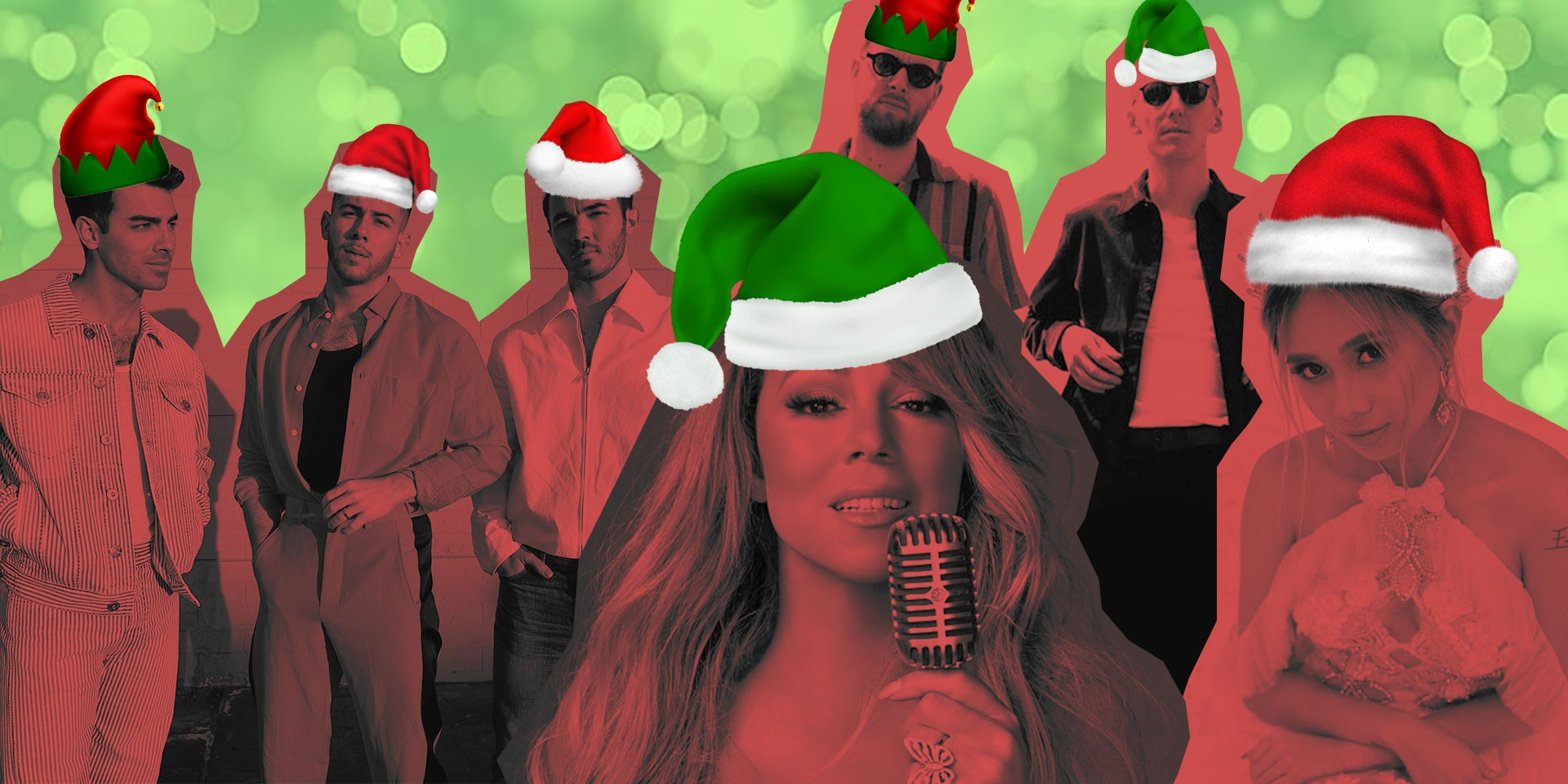 12 Christmas songs to ring in the holidays: Mariah Carey, HONNE, Jonas Brothers, NIKI, and more