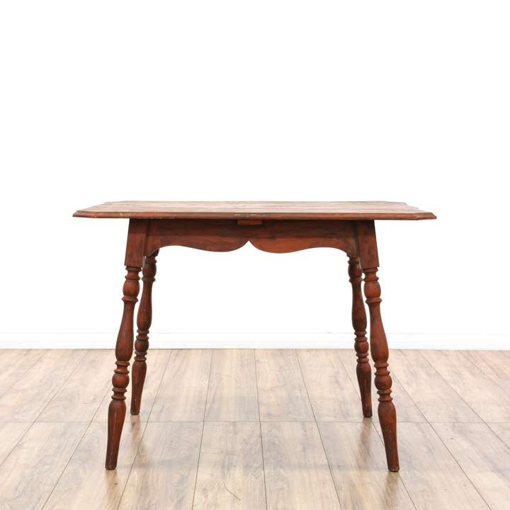 Maple French Provincial Dining Table W/ 1 Leaf