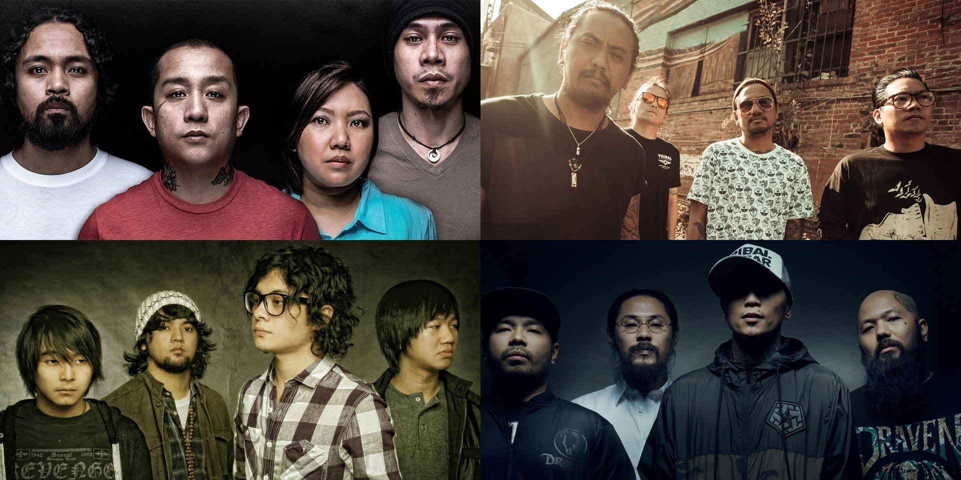 Urbandub, Typecast, Salamin, Wilabaliw, and more to perform at Threadfest 2019