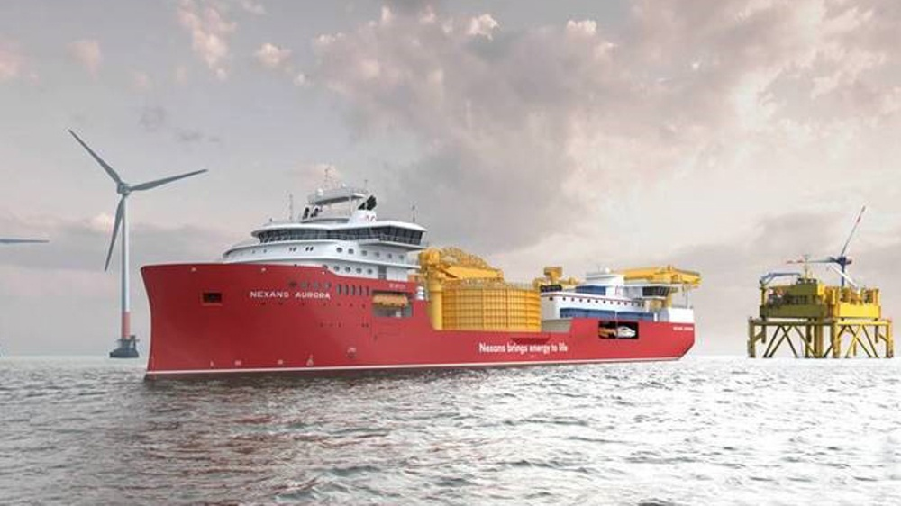 Isolamin has produced a large order for wall panels to Ulstein new cable laying vessel, NB 314 Nexans Aurora.