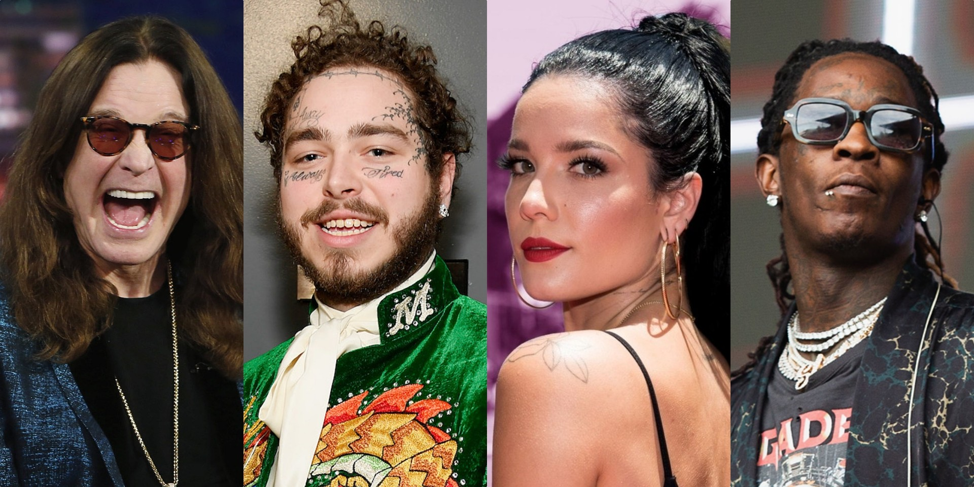 Post Malone shares list of collaborators on upcoming album, appearances by Ozzy Osbourne, Halsey, Young Thug and more confirmed