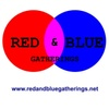 Red and Blue Gatherings logo
