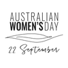 Australian Women's Day logo