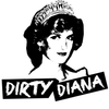 DIRTY DIANA  logo