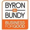 Byron to Bundy Business For Good logo